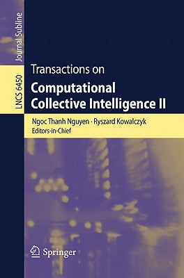 Transactions on Computational Collective Intelligence II By Nguyen, Ngoc Thanh (EDT)
